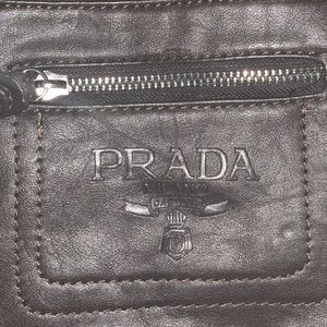 Vintage PRADA  Leather LUX Messenger Crossbody Bag